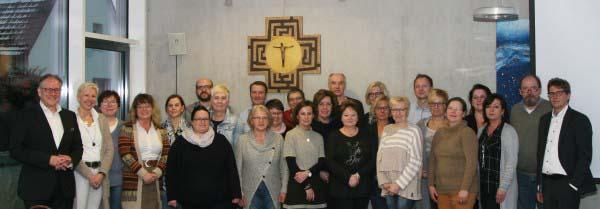 Führungskräfte des Caritasverbandes Lünen-Selm-Werne