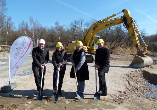 Offizieller Start zum Neubau in der Merschstraße