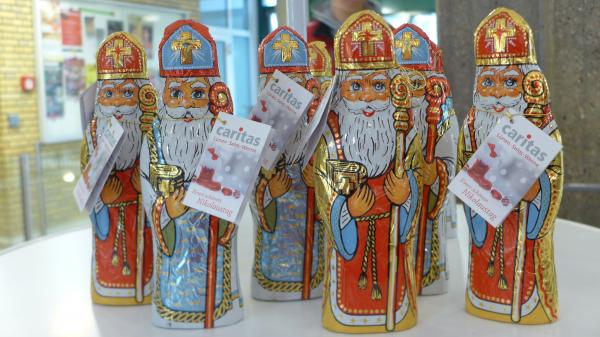 Caritas Schoko-Nikoläuse 2017