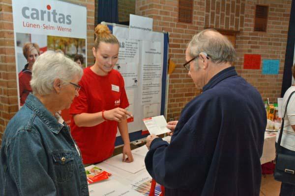 Älter werden in Selm mit der Caritas