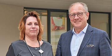 Hans-Peter Benstein und Heike Homann