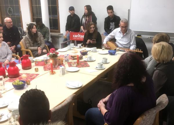 Café International in der Caritas Boutique