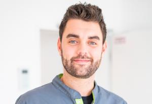 Florian Baumann, Pflegefachkraft