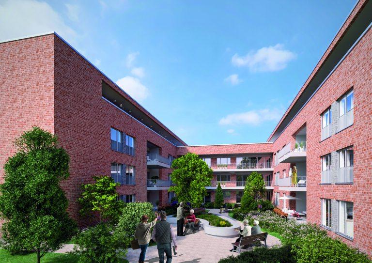 Seniorenzentrum an der Lippe Innenhof