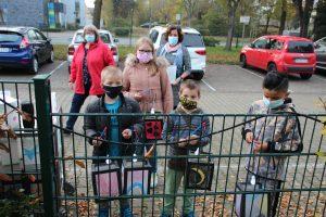 OGS-Kinder am Altenwohnhaus St. Josef